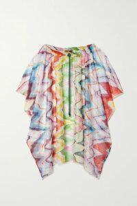 MATÉRIEL - Belted Woven Midi Dress - Mustard