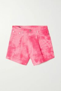 Oséree - Shine Ruched Stretch-lurex Midi Skirt - Black