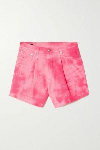 Oséree - Shine Ruched Stretch-lurex Midi Skirt - Black
