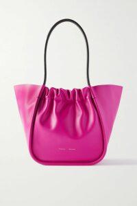 Miu Miu - Wool-blend Jacquard-knit Mini Skirt - Red