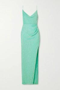 forte forte - Hammered Silk-satin Top - Orange