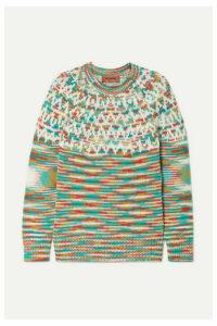 Missoni - Wool-blend Sweater - Green