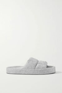 Naeem Khan - Sequined Stretch-knit Top - Gold
