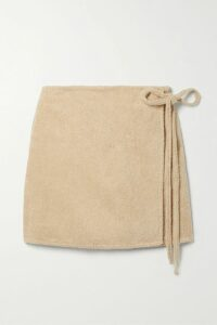 Simone Rocha - Tiered Ruffled Corded Lace Midi Skirt - Black