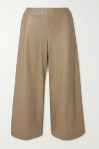 Khaite - Clara Double-breasted Woven Coat - Ivory