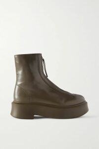 Khaite - Matthias Belted Cotton-gabardine Trench Coat - Sand