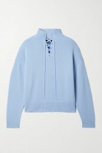 Miu Miu - Belted Prince Of Wales Checked Wool-blend Blazer - Red
