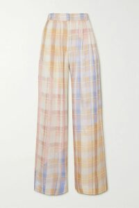 Ulla Johnson - Leonie Broderie Anglaise-trimmed Floral-print Cotton-poplin Dress - Red