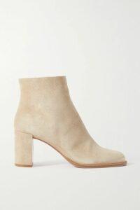 Valentino - Printed Silk Crepe De Chine Shirt - Ivory
