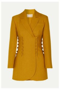 MATÉRIEL - Button-detailed Twill Blazer - Saffron
