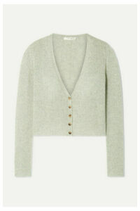 The Row - Abigael Cropped Cashmere Cardigan - Mint