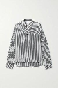 Caroline Constas - Snake-print Cotton And Silk-blend Maxi Dress - Snake print