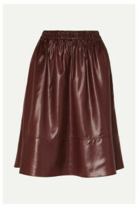 Tibi - Shell Skirt - Burgundy