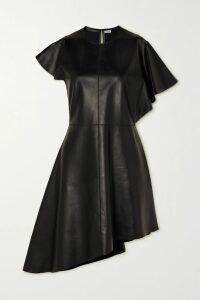 Diane von Furstenberg - Emilia Leopard-print Crepe Wrap Mini Dress - Yellow