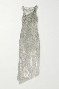 forte forte - Washed-satin Shirt - Light blue