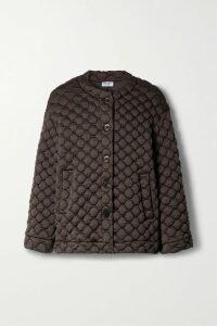 Akris - Cotton-blend Poplin Peplum Top - Royal blue