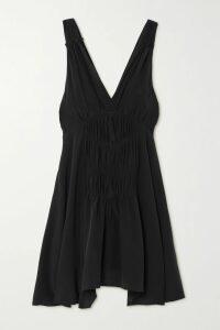 The Row - Zalani Oversized Mélange Stretch-cashmere Turtlneck Sweater - Beige