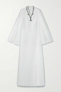 Alexander McQueen - Peplum Cotton-gabardine Trench Coat - Beige
