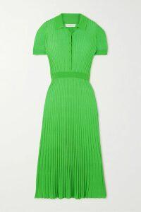 Anna Mason - Carmen Ruffled Floral-jacquard Skirt - Black