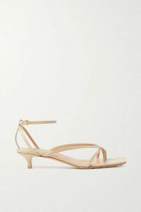 Proenza Schouler - Satin-trimmed Fringed Crepe Dress - Black