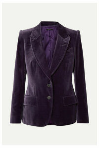 TOM FORD - Cotton-velvet Blazer - Purple