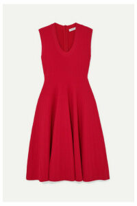 CASASOLA - Ribbed-knit Dress - Red