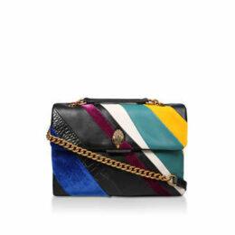 Kurt Geiger London Lthr Lg Kensington S Bag - Multicoloured Striped Shoulder Bag