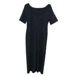Wool maxi dress