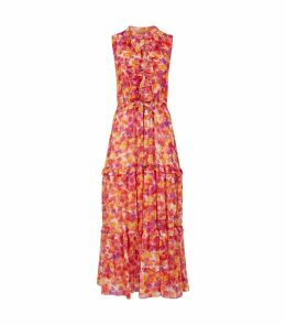 Delphine Ruffle Maxi Dress