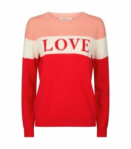 Cashmere Slogan Sweater