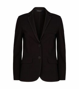 Stretch-Jersey Blazer