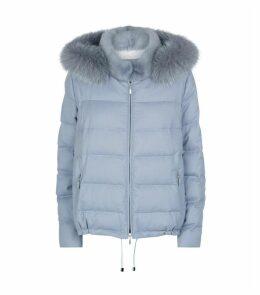 Fur Trim Performance Jacket