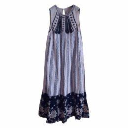 Glitter maxi dress