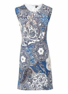 Womens *Izabel London Multi Colour Eastern Print Shift Dress, Multi Colour