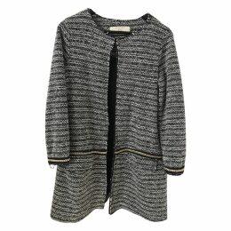 Tweed cardi coat
