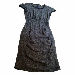 Tweed mid-length dress