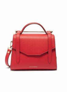 'Allegro Mini' leather satchel