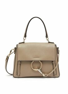 'Faye Day' small leather shoulder bag