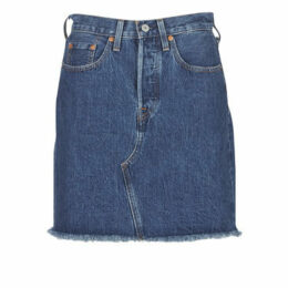 Levis  HR DECON ICONIC BF SKIRT  women's Skirt in Blue