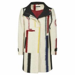 Mado Et Les Autres  Modern coat  women's Coat in White
