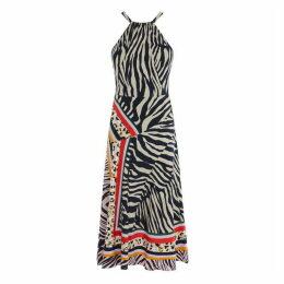 Karen Millen Zebra Scarf Dress