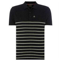 Merc Finsbury Breton Stripe Polo