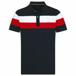 Tommy Hilfiger Chest Stripe Polo Top