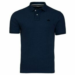 Raging Bull Embroidered Marl Polo