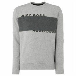 Boss Salbo Colour Block Crew Neck Sweatshirt