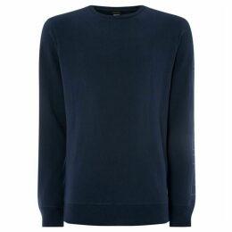 Diesel Willy Logo Sleeve Sweatshirt