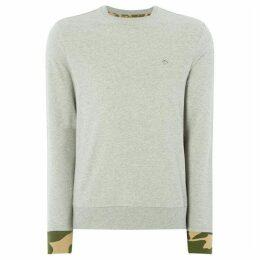 Penguin Camo Detail Sweatshirt