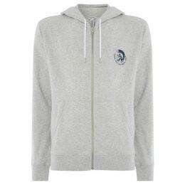 Diesel Brandon mohican zip up sweatshirt