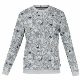Ted Baker Foxie Tropical Print Sweatshirt