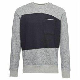 French Connection Winning Block Panel Sweatshirt